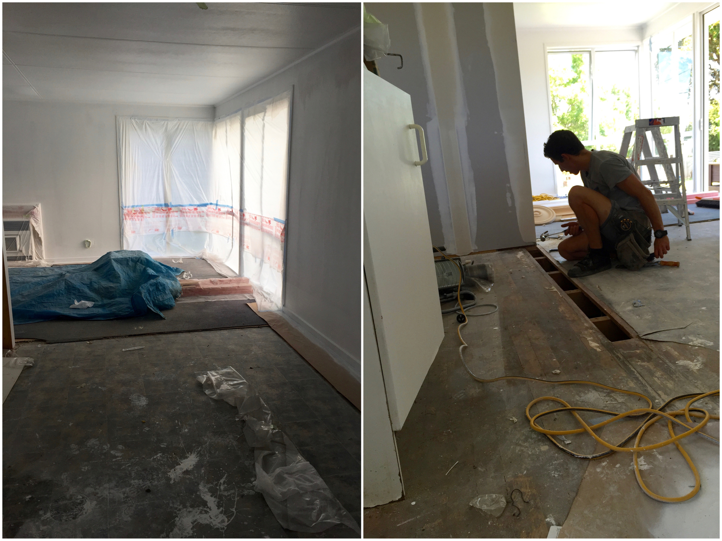 Pearson and Projects - Renovation Progress - Kingdom Builderz