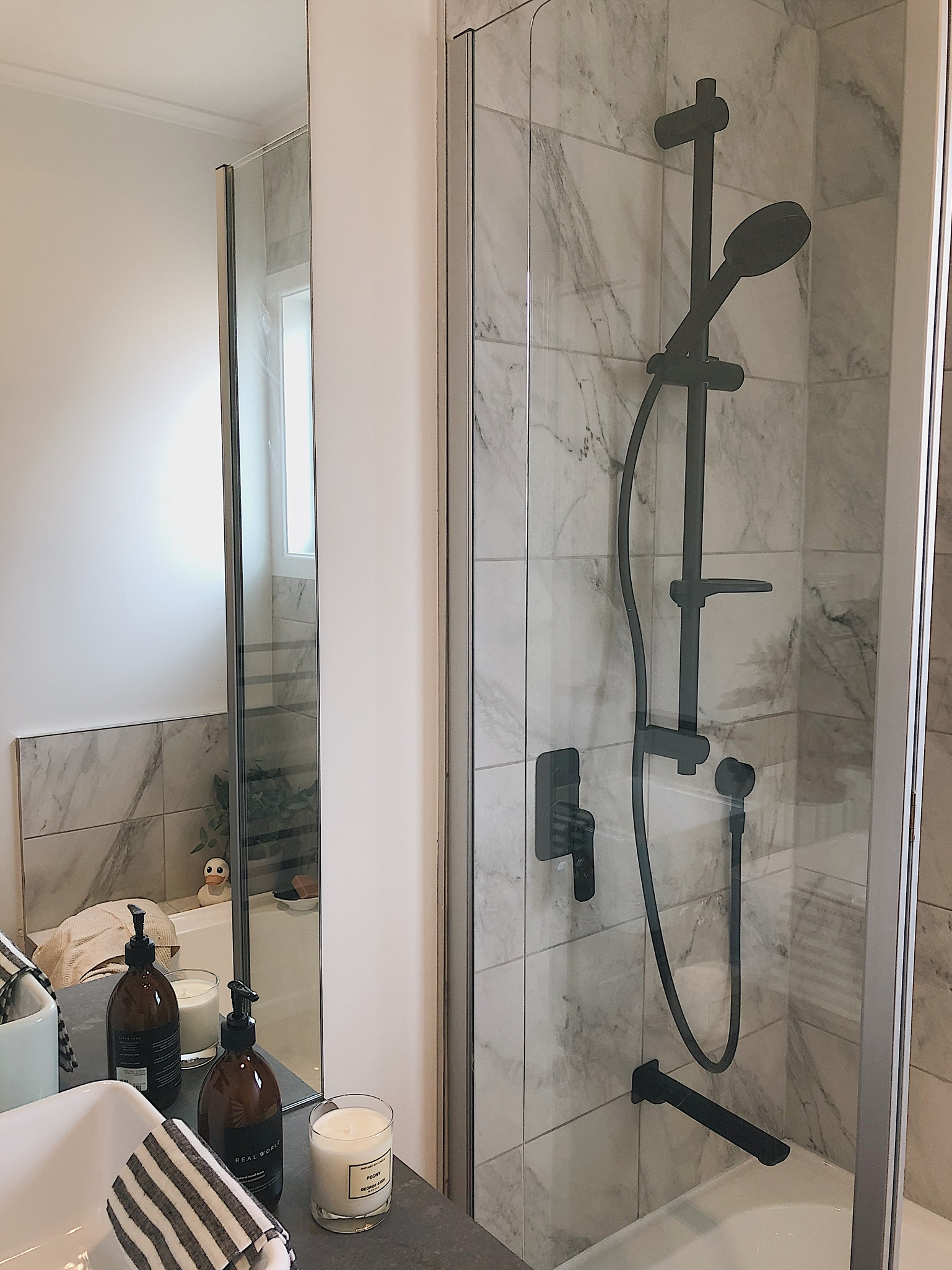 Pearson and Projects Relocatable Reno Bathroom Project Shower Mirror Father Rabbit Caroma.jpg