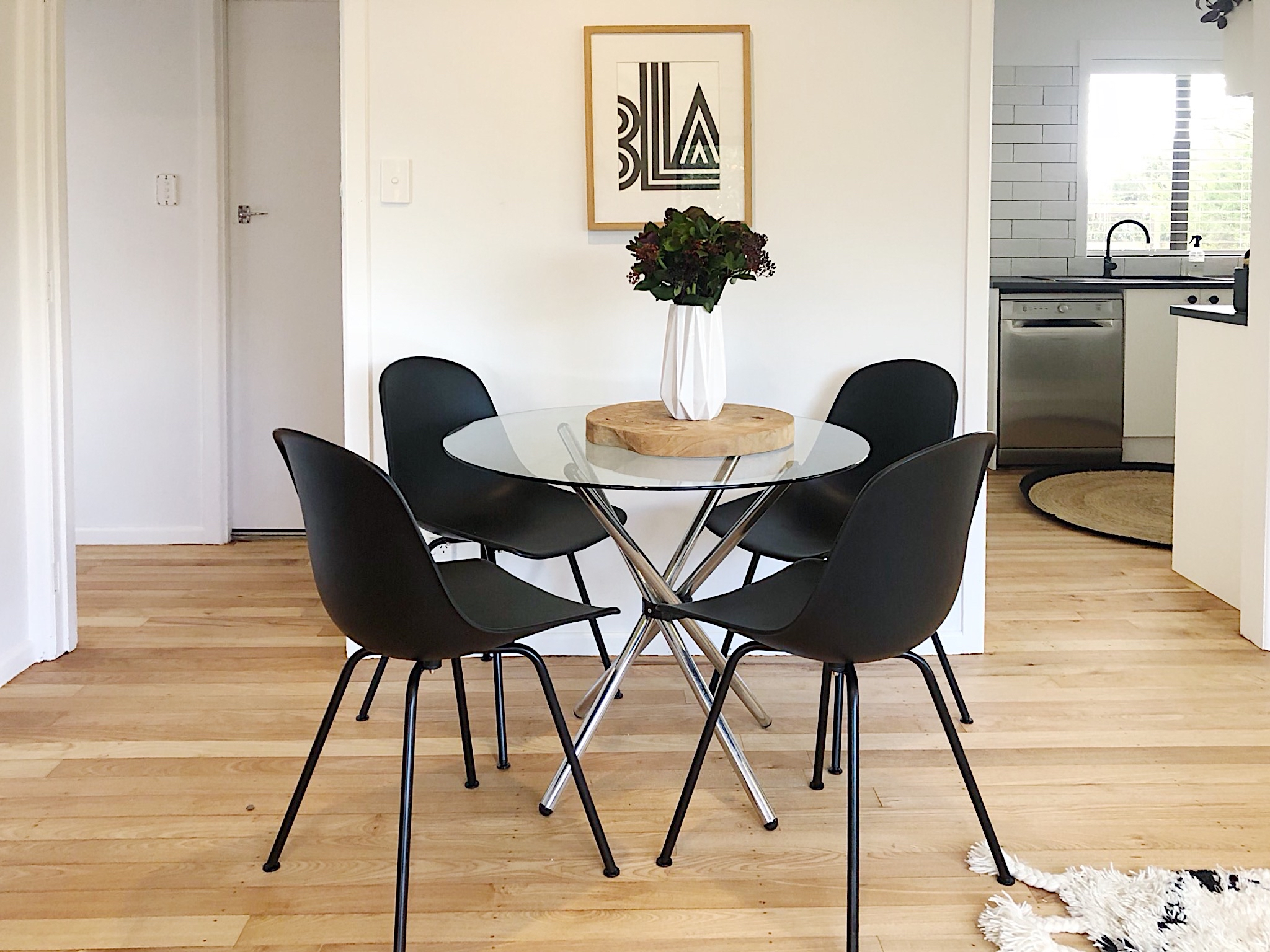 Pearson + Project The Reno Race The Rookies Lounge Tawa Floor Small Space Dining Space Round Table Black Chairs.jpg