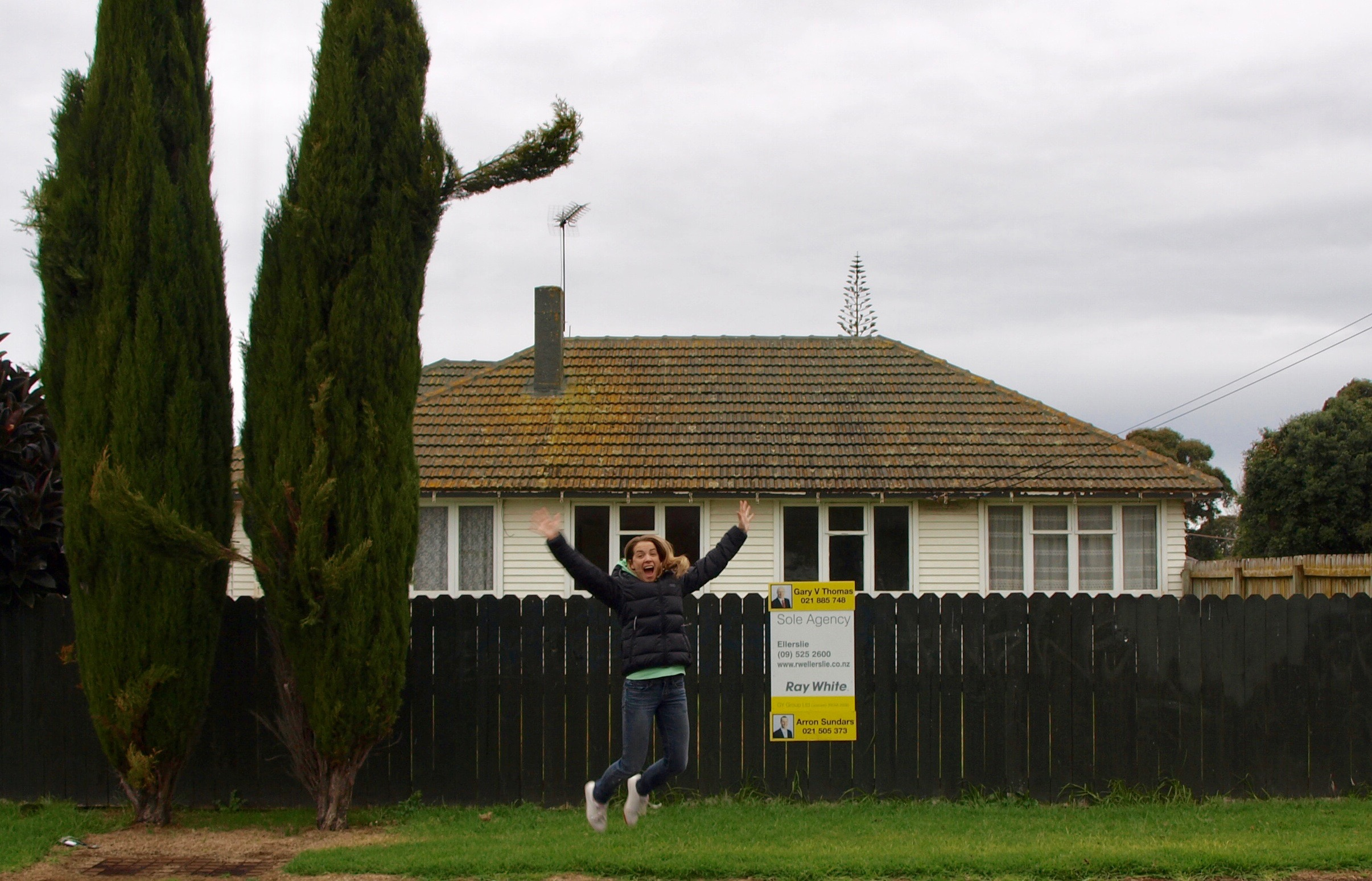 Our First House we purchased in 2010