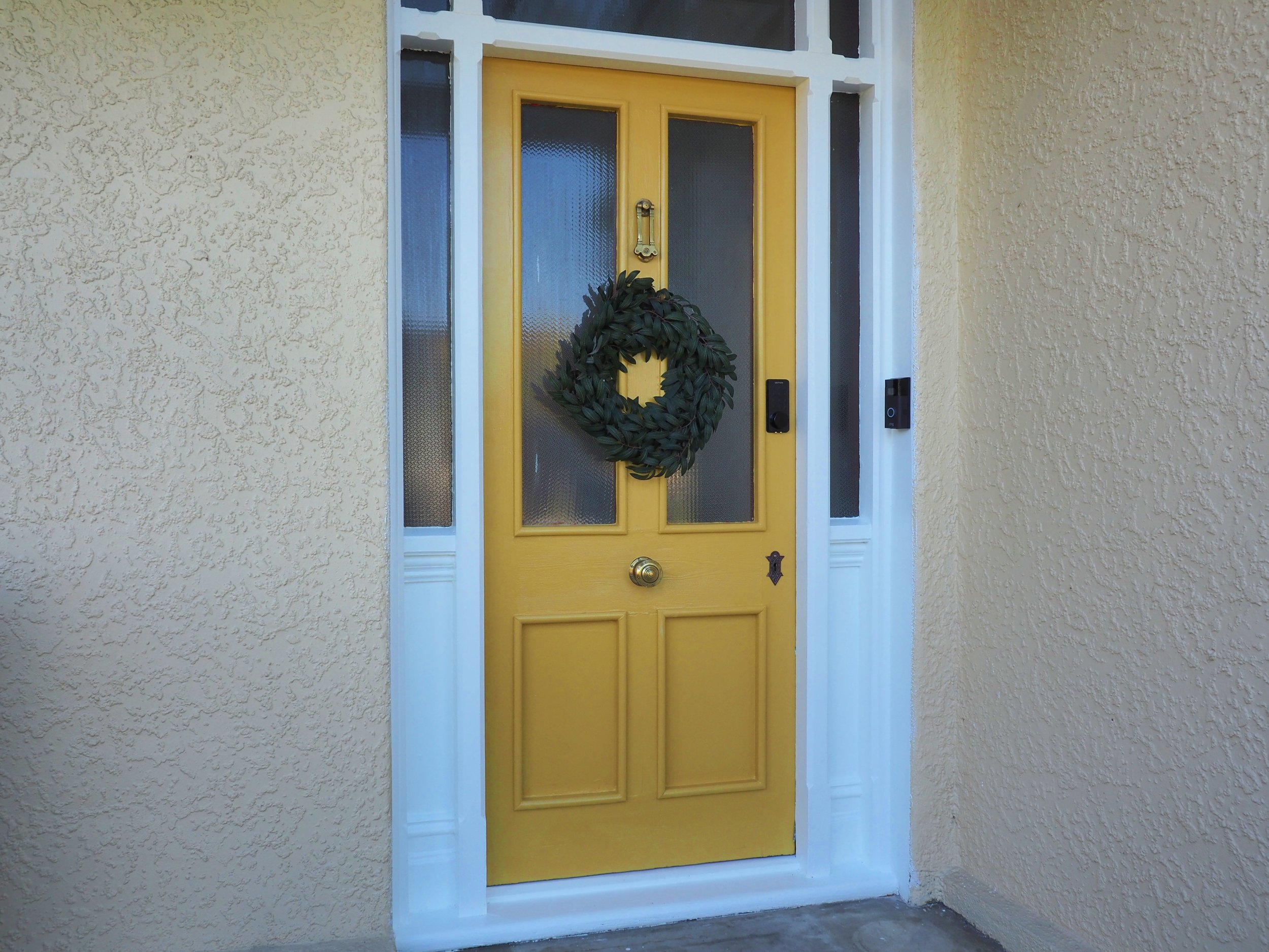 Pearson and Projects Front Door Makeover Good as Gold .jpg