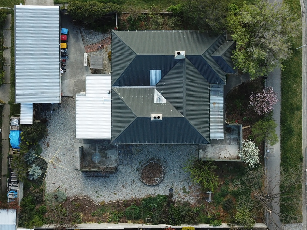 Pearson and Projects - Renovation Roadtrip - Charmer In Alexandra- Aerial Property Photo