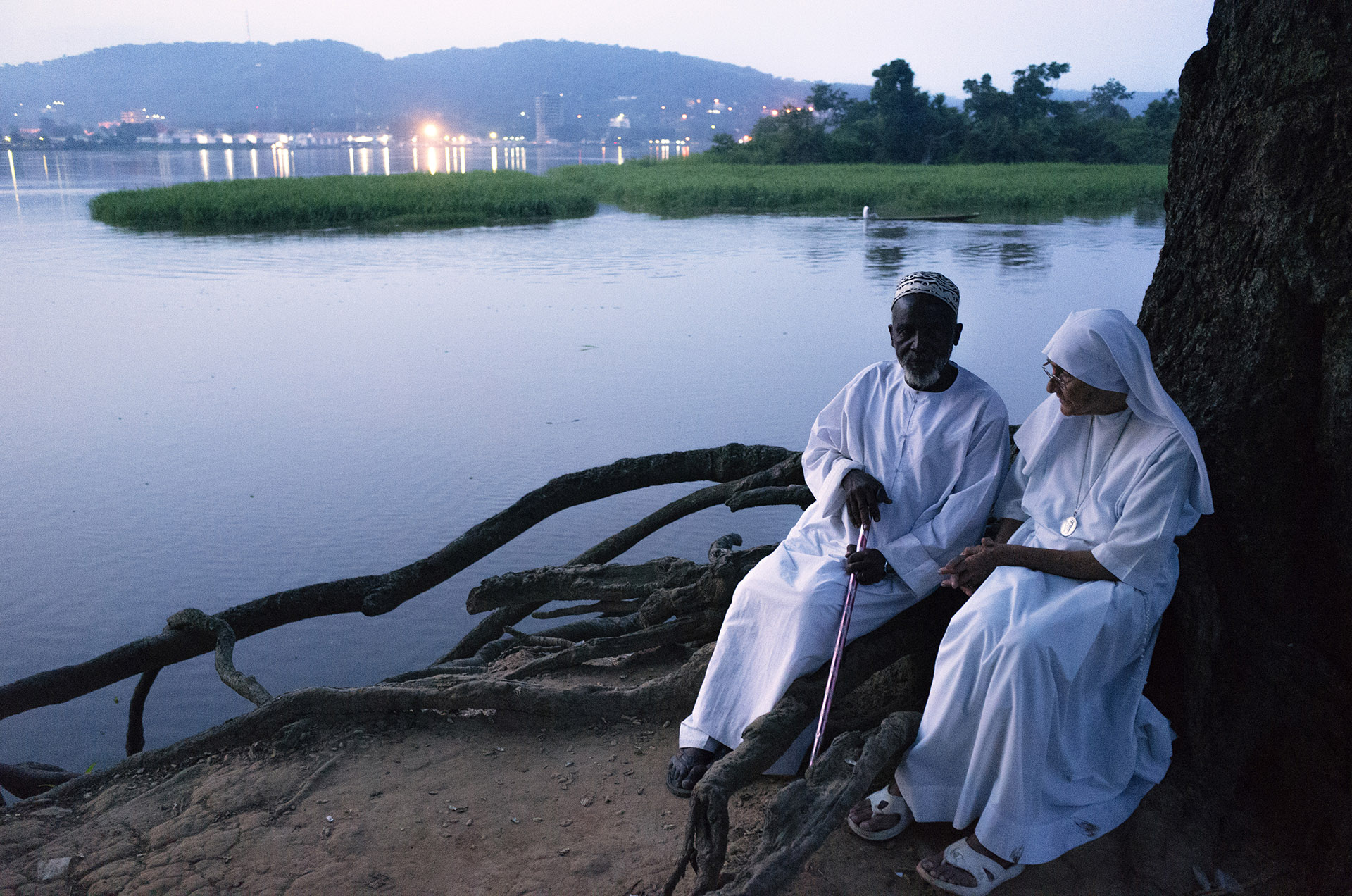 Sister Maria Concetta and Imam Moussa Bawa
