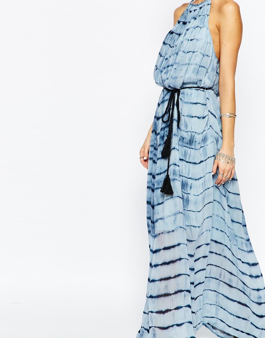 Selected Miriam Dress in Tie Dye