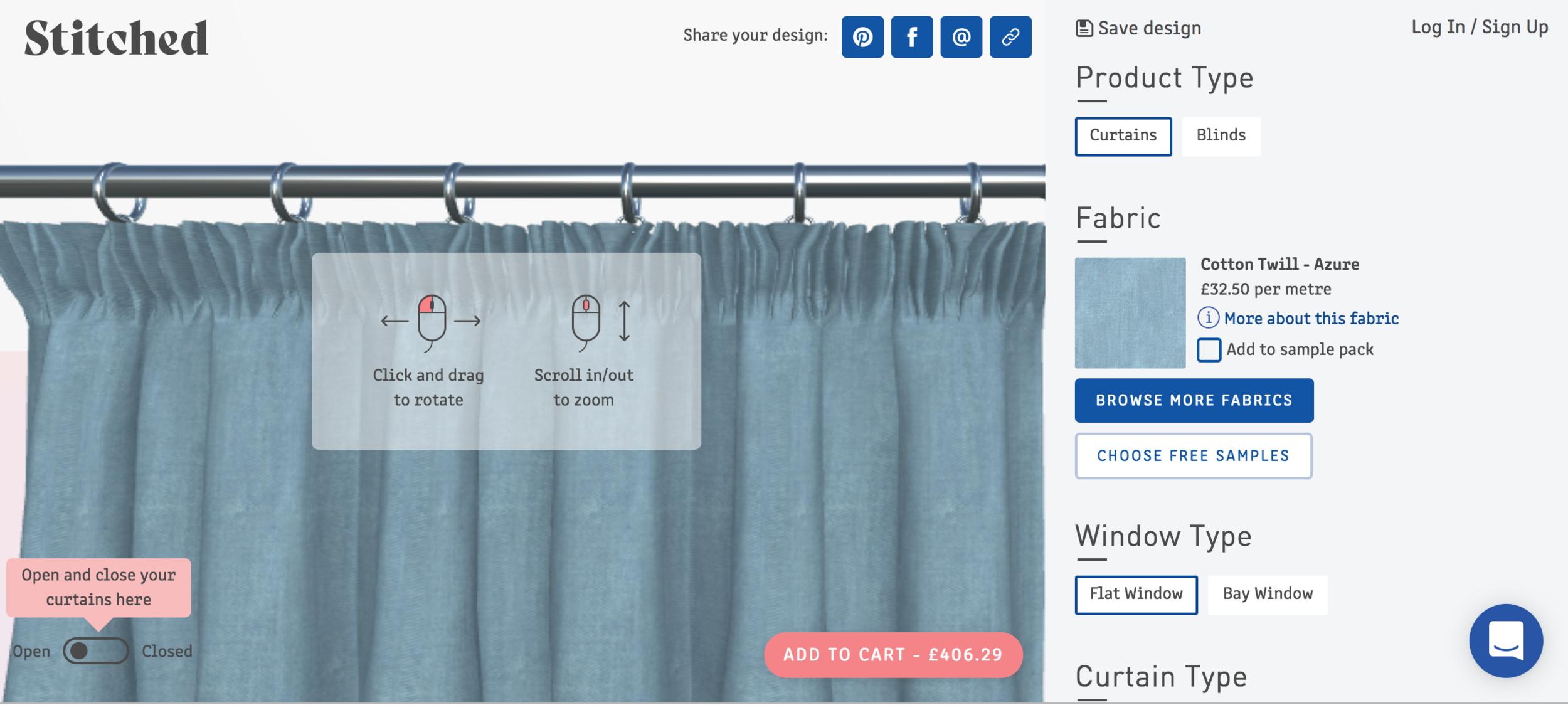 My Curtains By Stitched Dress Like A Mum