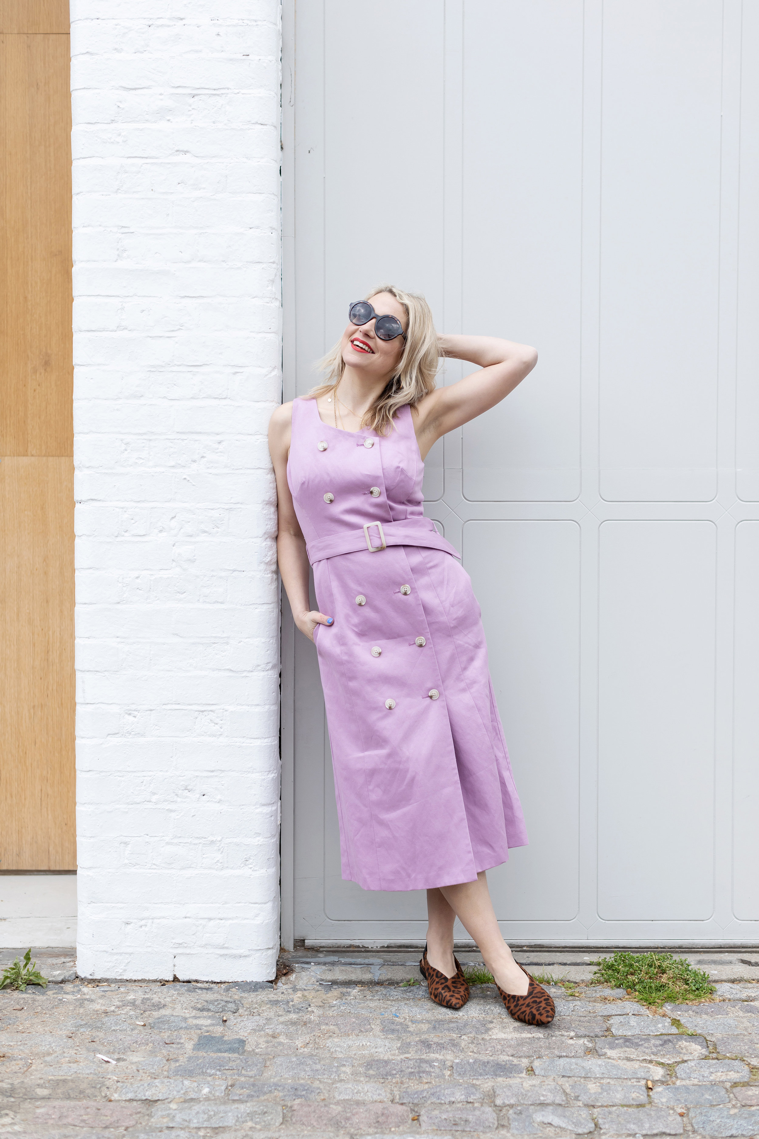 71e9a49c93 I love the lilac colour of this dress - it's so pretty but I also like the  modern cut of it. It can be worn both smart and casually.