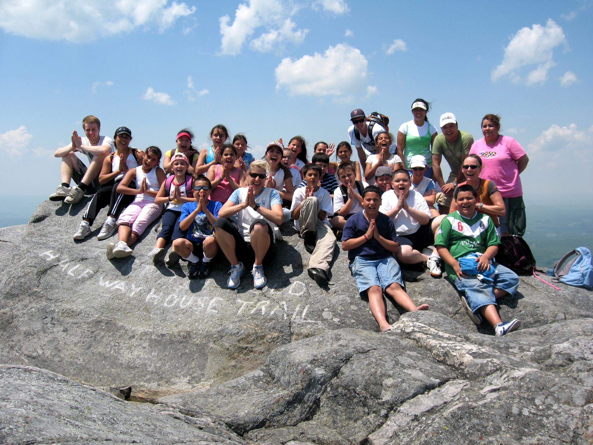 Kids on Mtn 2008.JPG