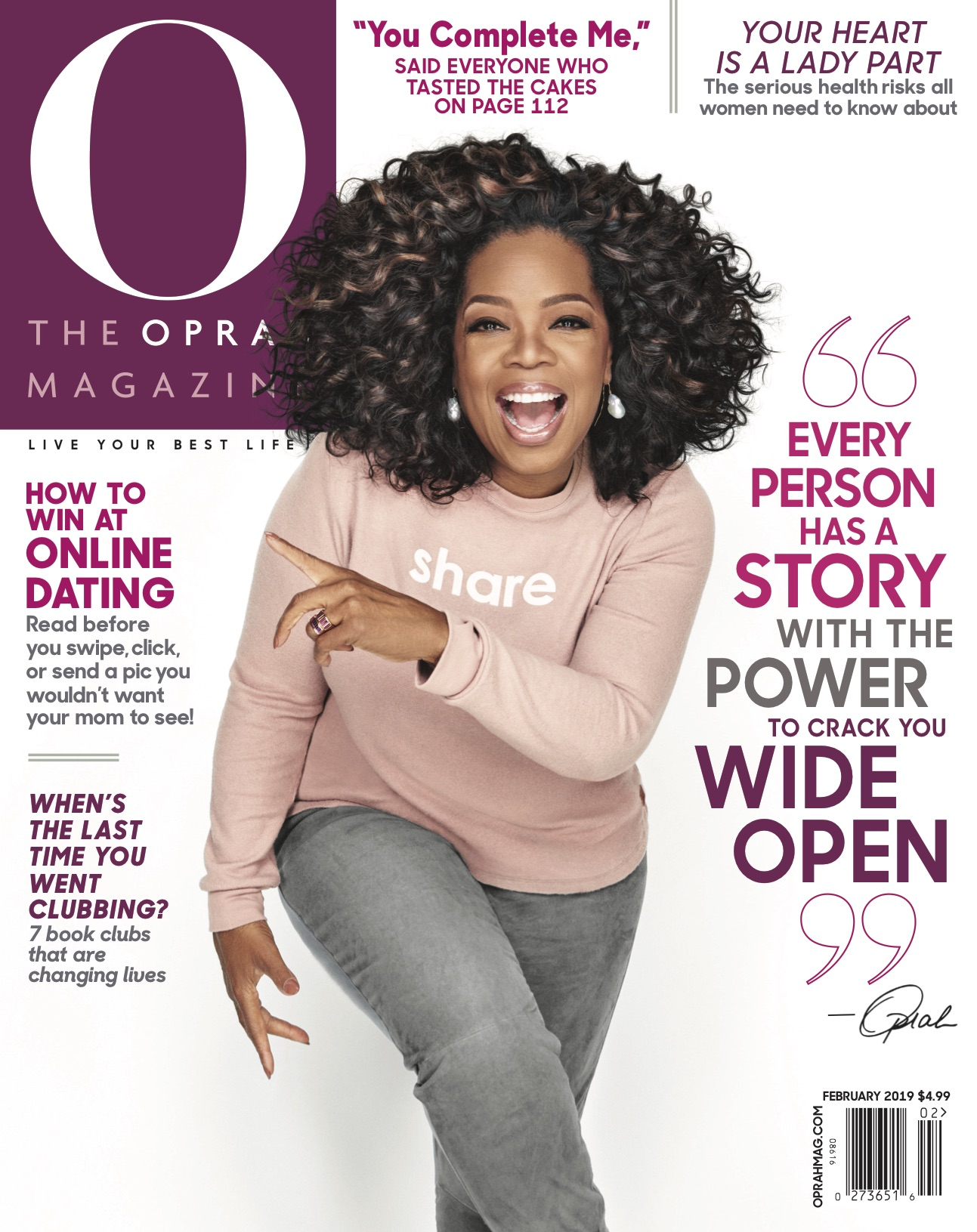 2019-2 Febuary - Cover of Oprah Magazine.jpg