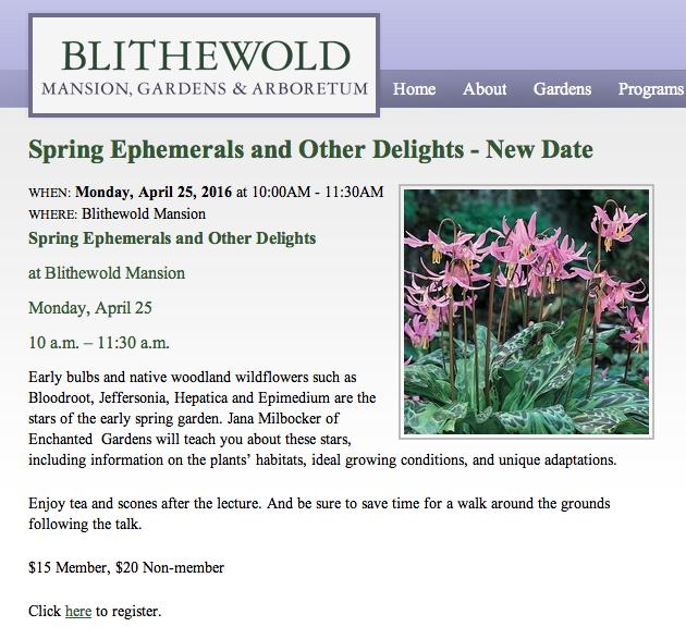 Blithewold Website