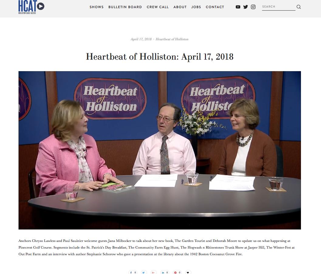 heartbeat of holliston