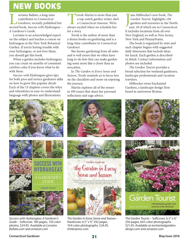 connecticut gardener magazine
