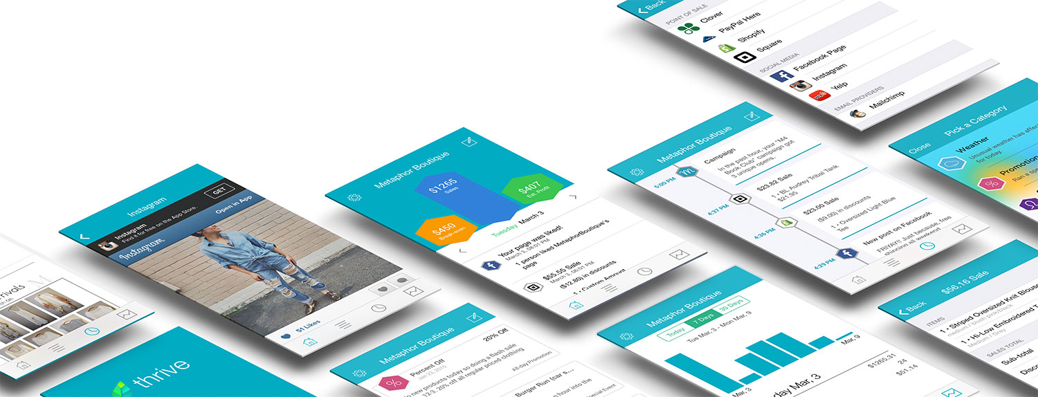 Thrive is the best way to receive key insights to running your business better. Real-time sales, profitability and social media data lets you know exactly how your business is performing - right on your smart phone