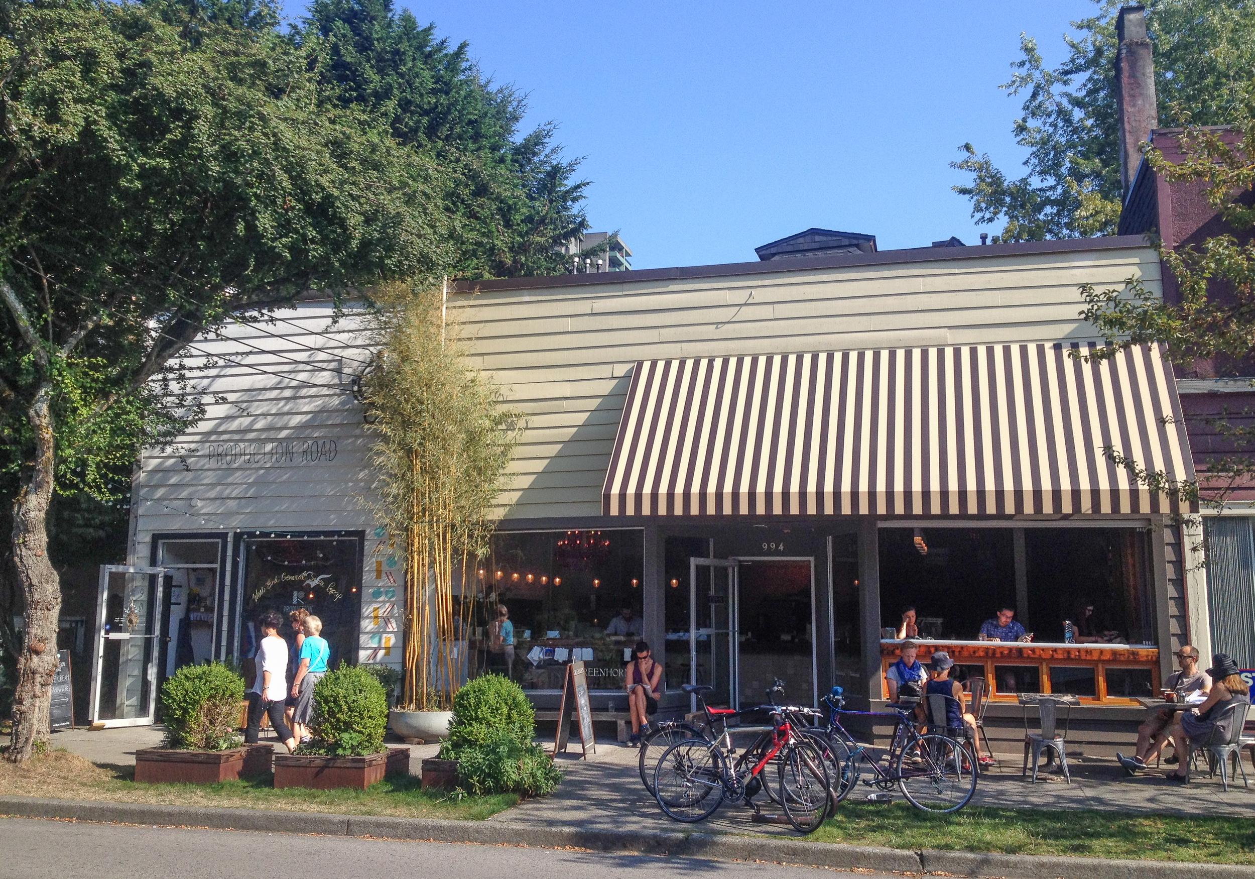 greenhorn cafe vancouver