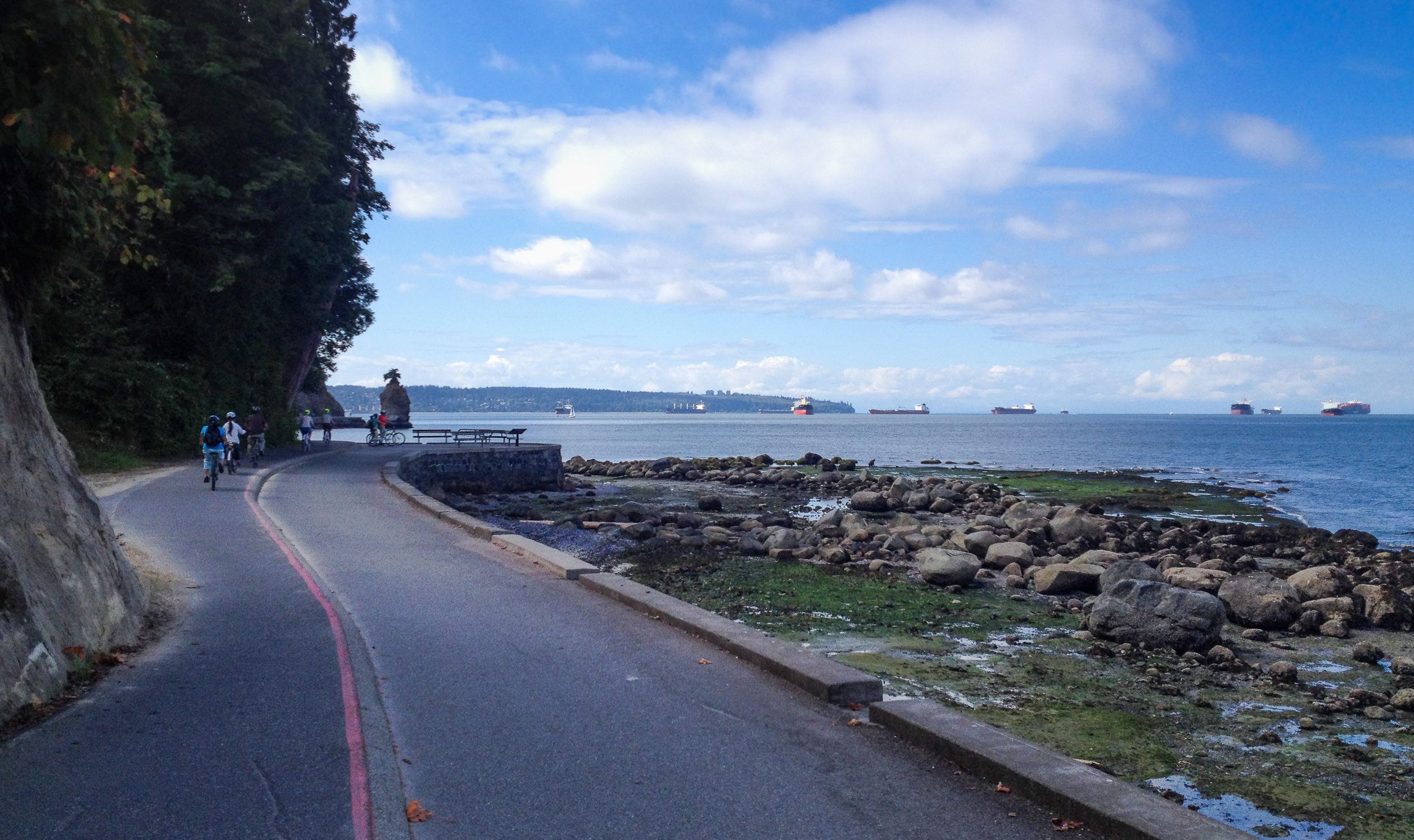 stanley park seawall vancouver city guide