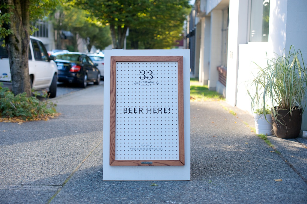 33 acres beer vancouver city guide