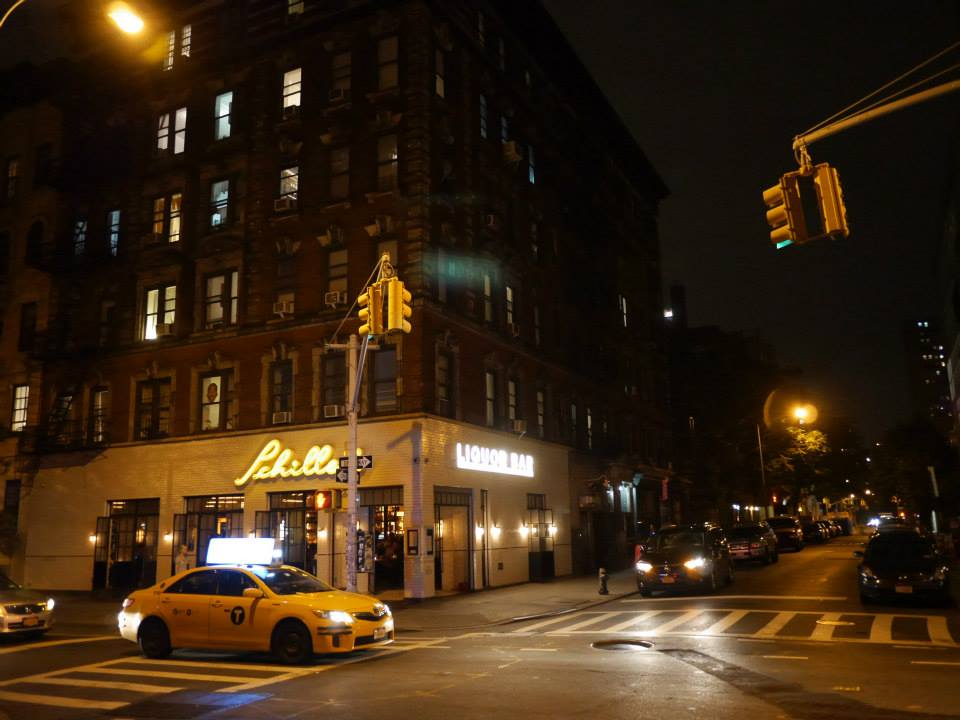 hello getaway, city guide, nyc, schillers liquor bar