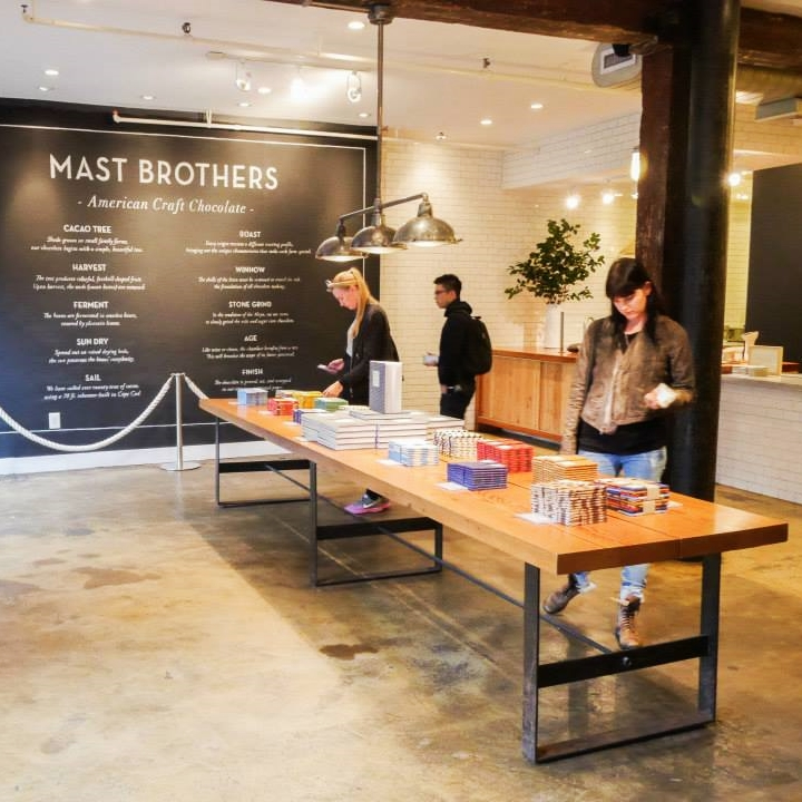 hello getway, city guide, nyc, mast brothers chocolate