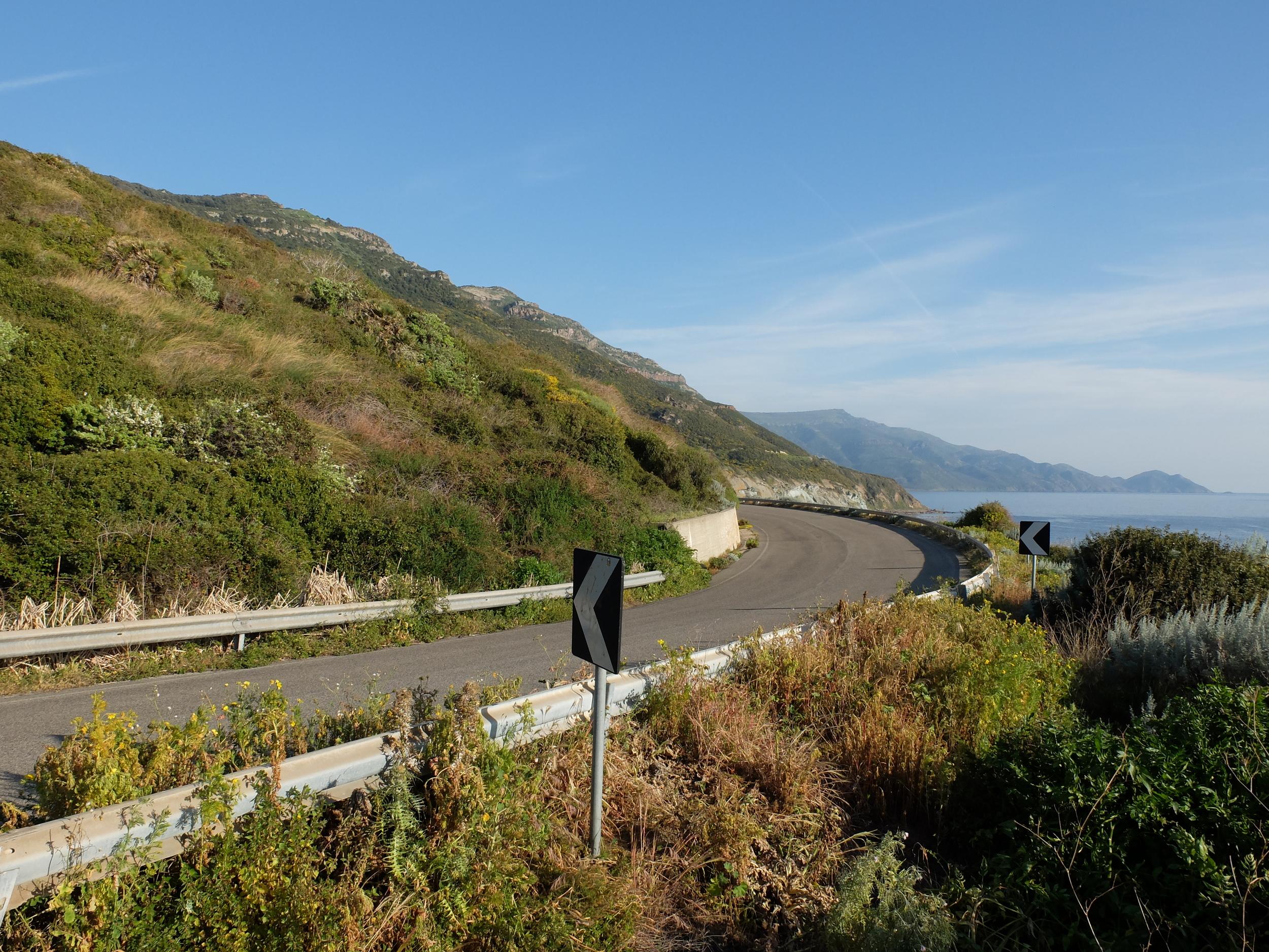 Hello Getaway, Sardinia, Road to Bosa
