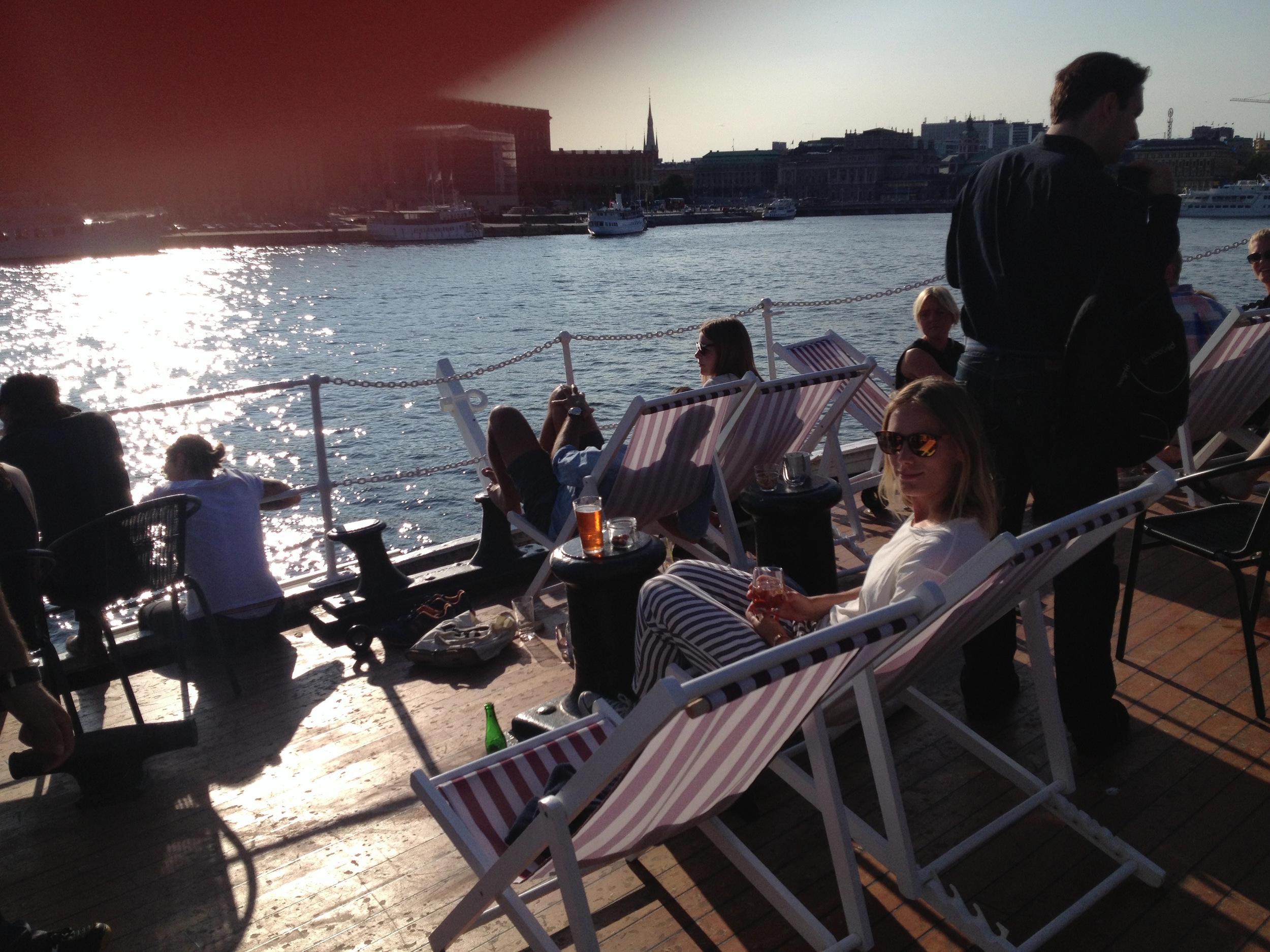 hello getaway, sweden, stockholm, skeppsholmen, chapman, city guide