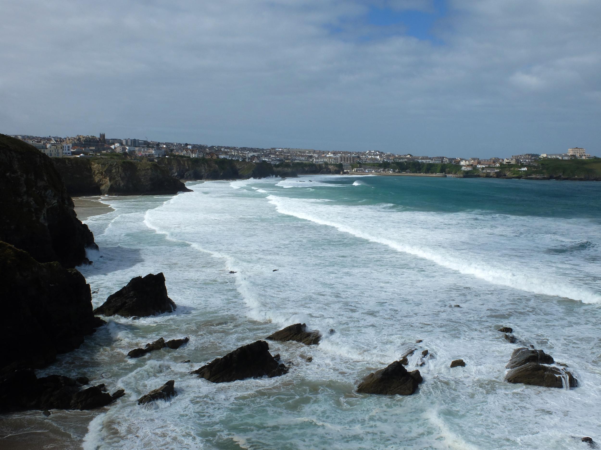 hello getaway, england, cornwall, newquay, surfing