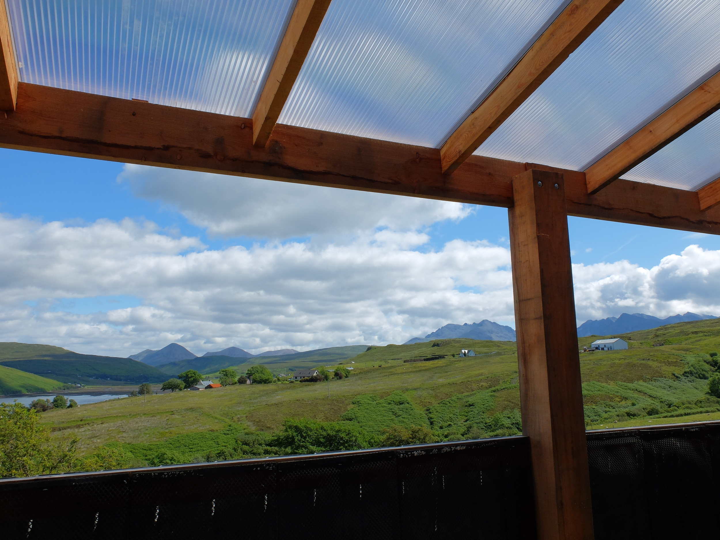 hello getaway, scotland, isle of skye, the oyster shed