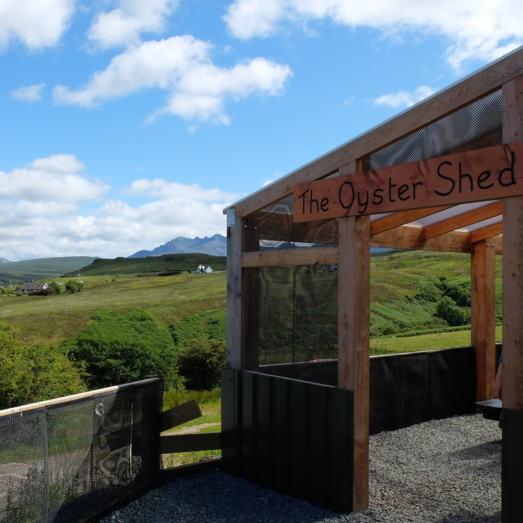 hello getaway, isle of skye, scotland, the oyster shed