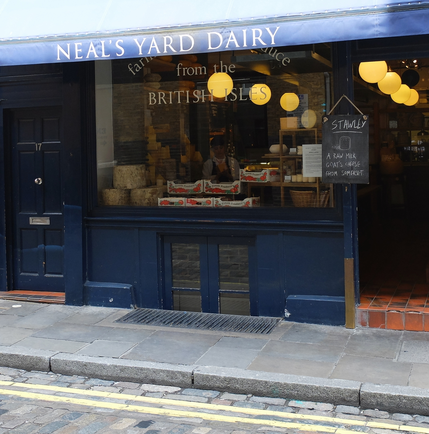 neils yard dairy hello getaway city guide london convent garden
