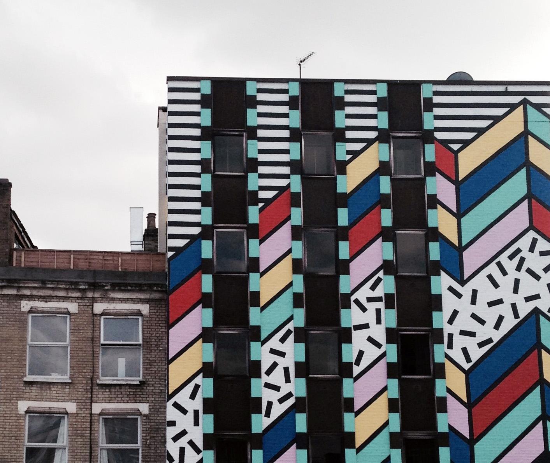 london shoreditch camille walala  hello getaway city guide london