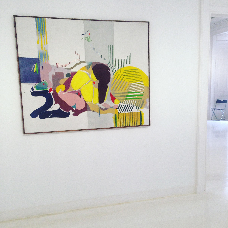 modern art Lisbon museum do Chiado hello getaway
