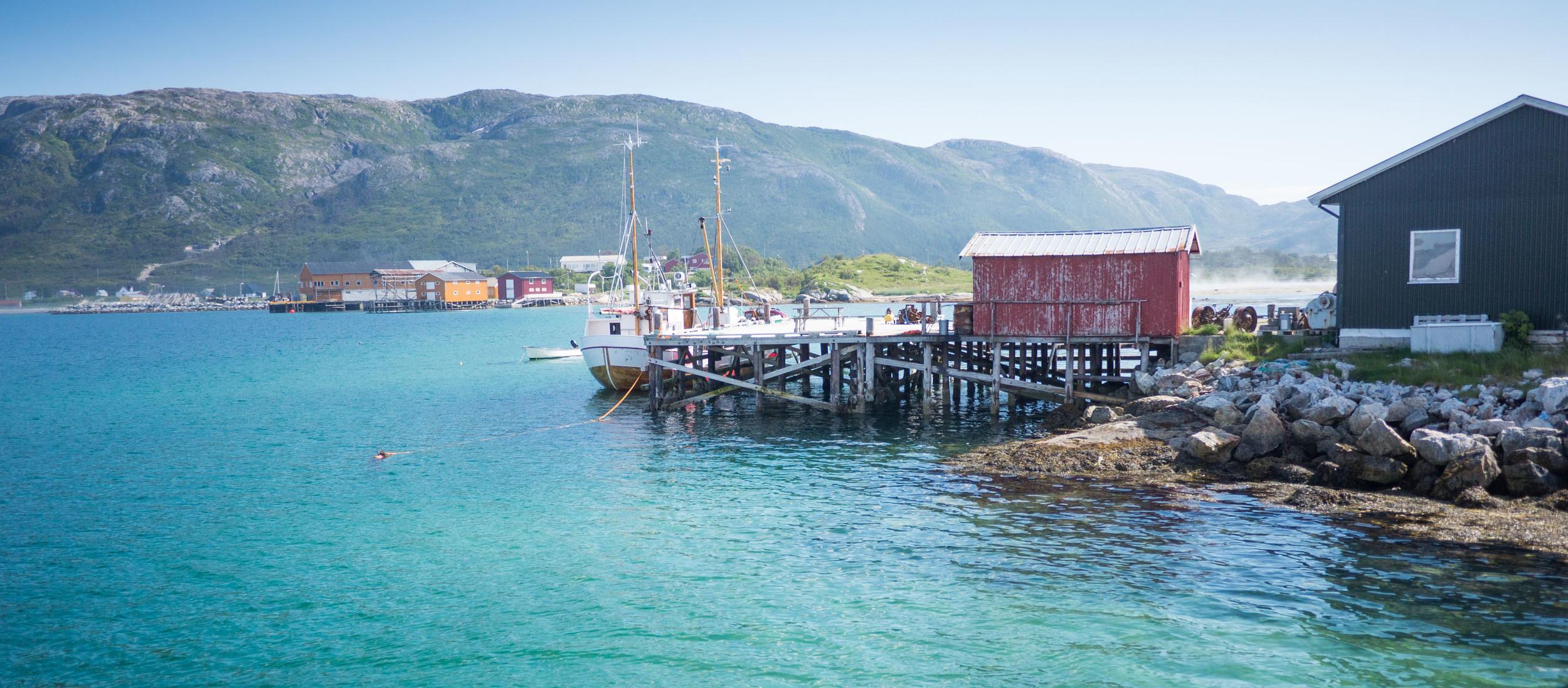 Norway sommaröya Senja lofoten roadtrip