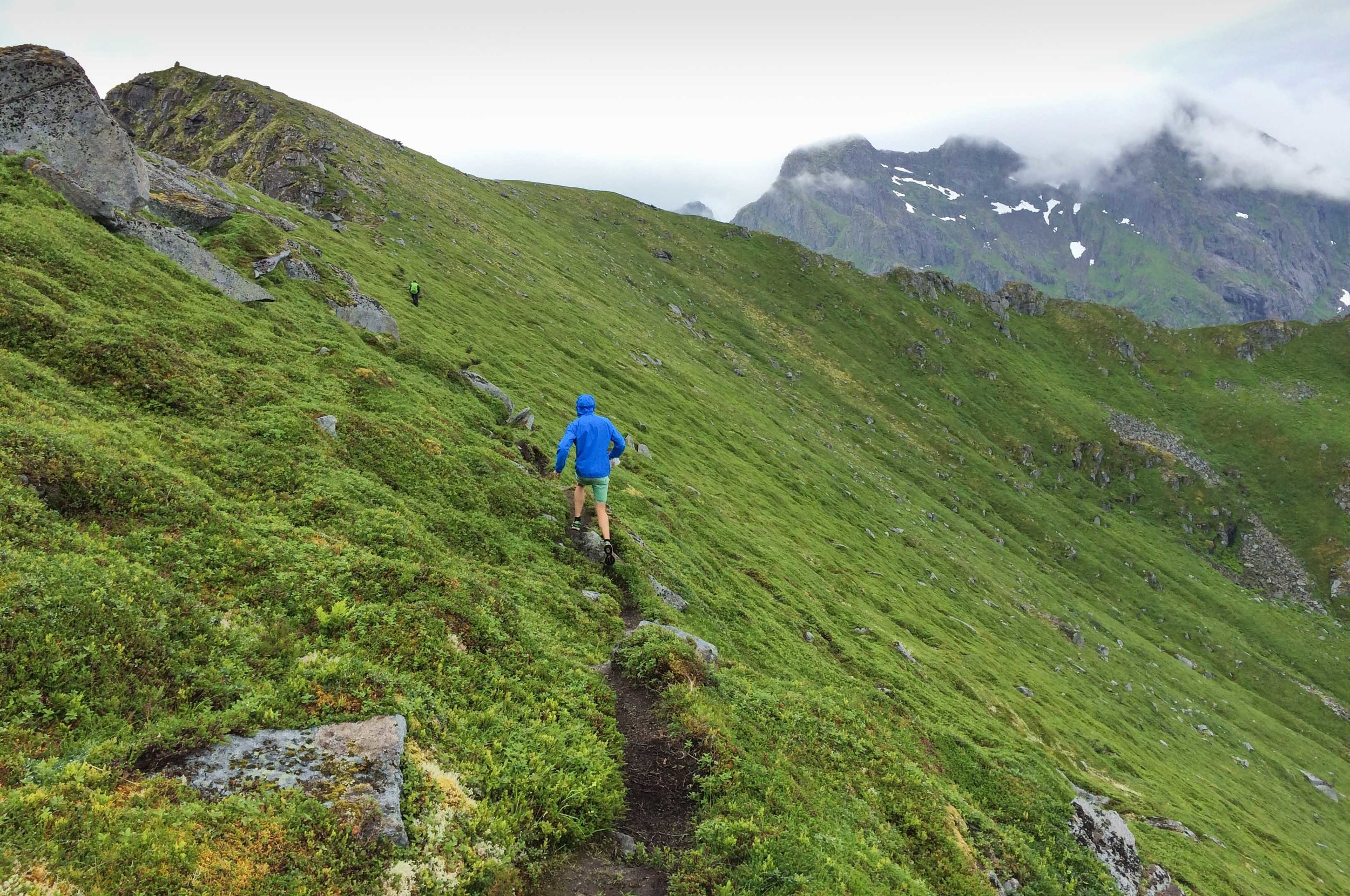Unstad trailrun lofoten norway