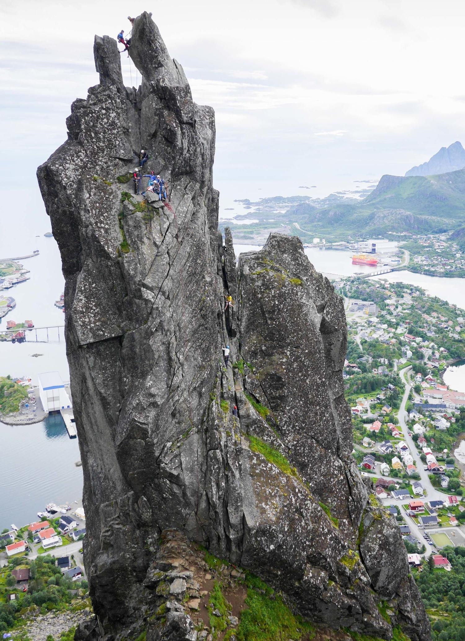 Svolværgeita climbing lofoten