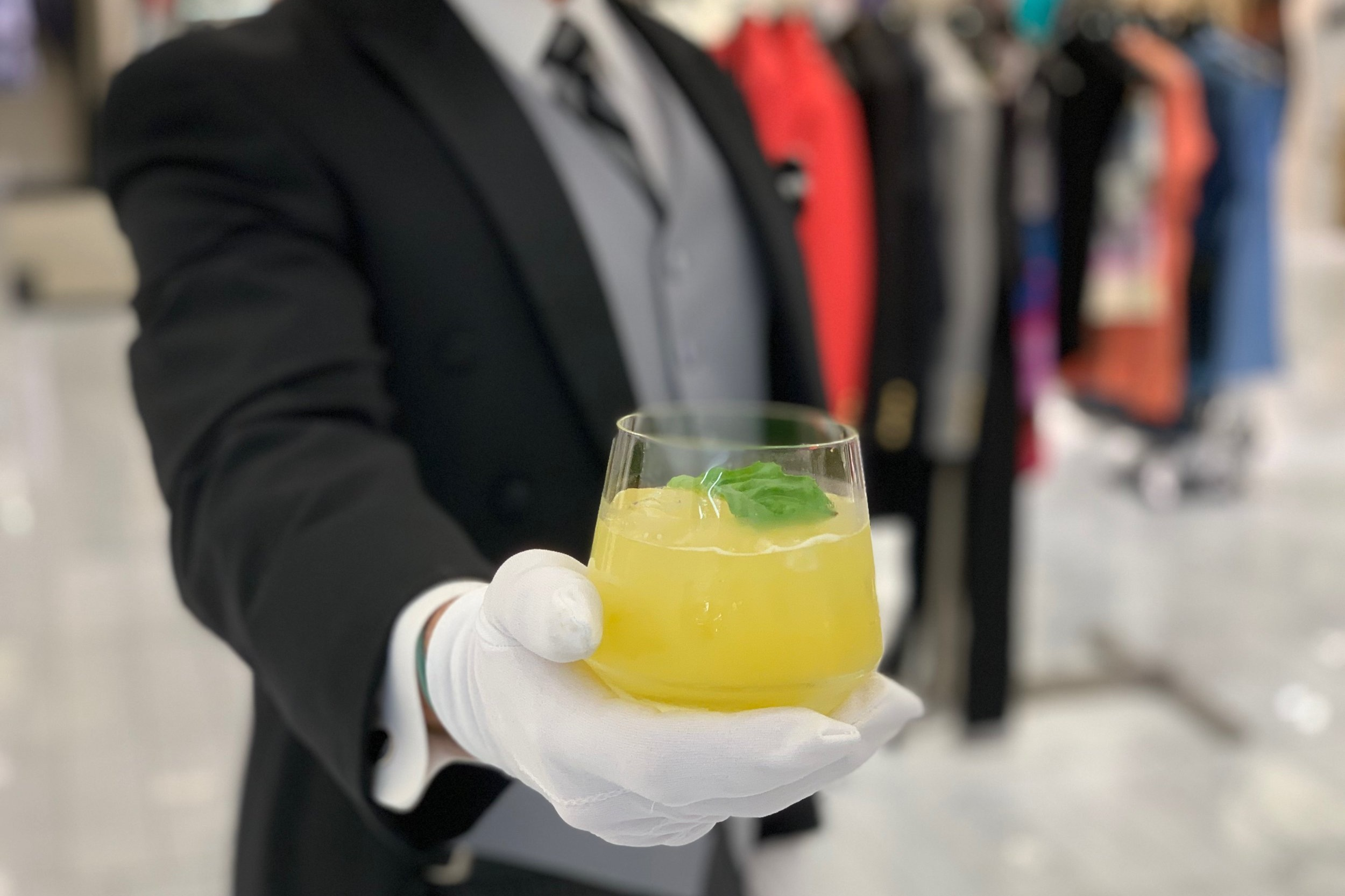 TRAY PASSED CRAFT COCKTAILS - two specialty cocktail options, water, rentals, staffstarting at $30 per person