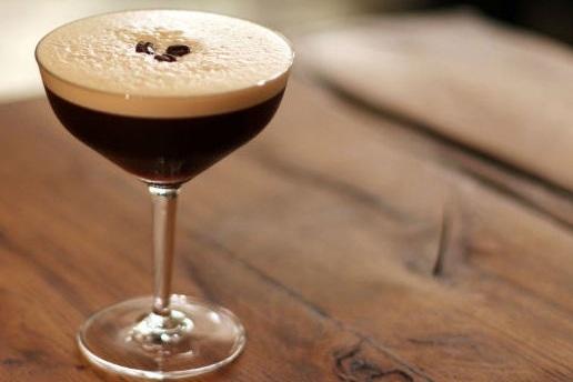 Espresso Martini - homemade cold brew coffee, vanilla bean, dark chocolate, almond milk, warm spices