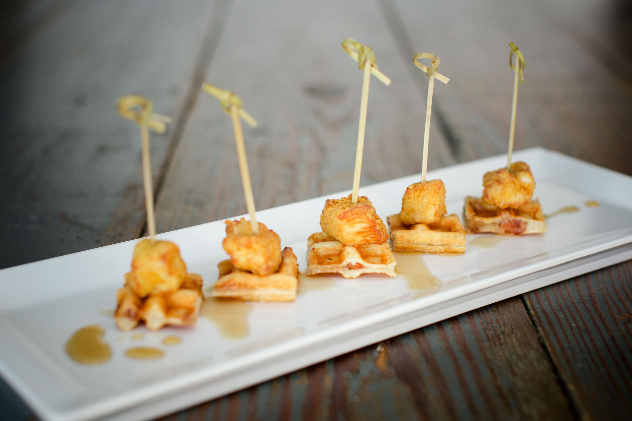 STANDARD PACKAGE - 5 tapas selections total, 10-12 pieces per person3 servings of standard alcoholstarting at $89 per person