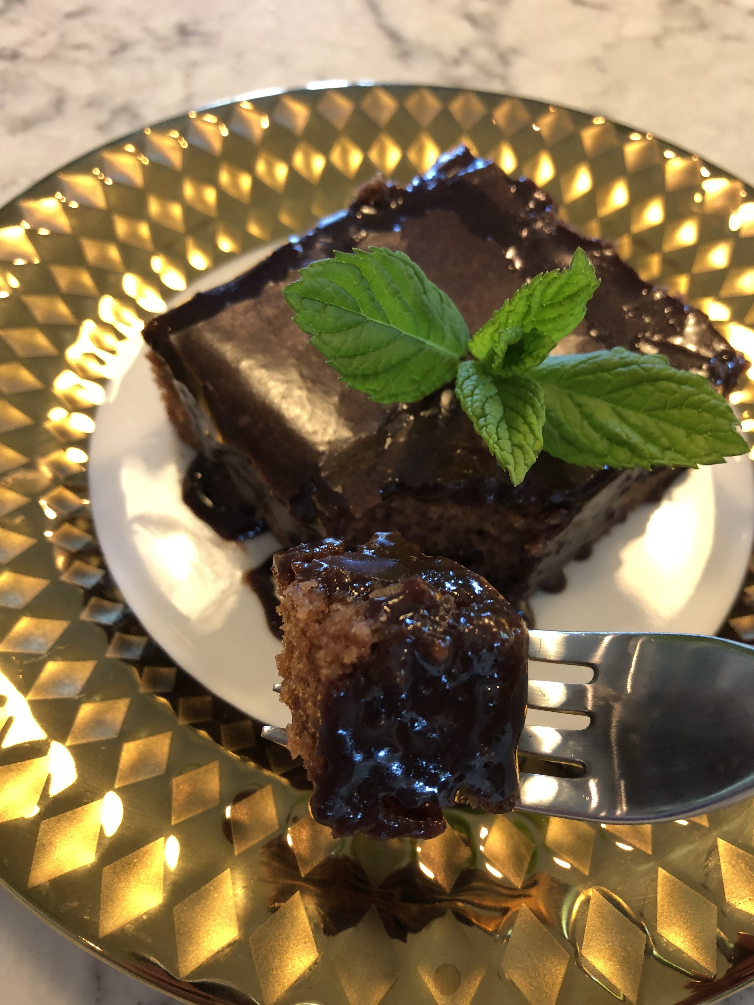 Texas Sheet Cake - yum