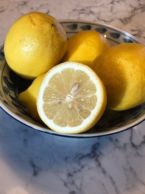 Fresh Lemons ready to squeeze