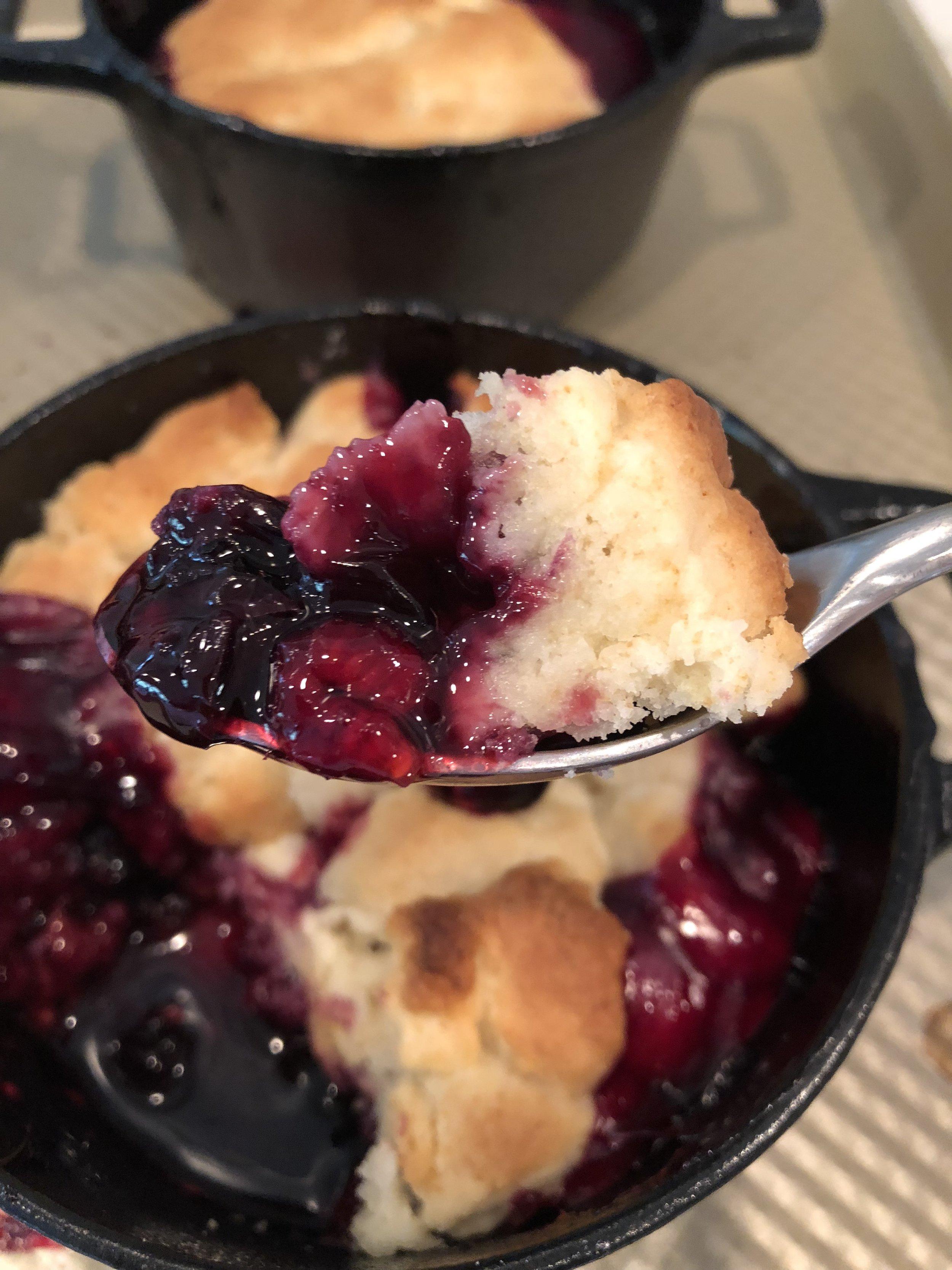 4 Berry Cobbler Desocio In the Kitchen