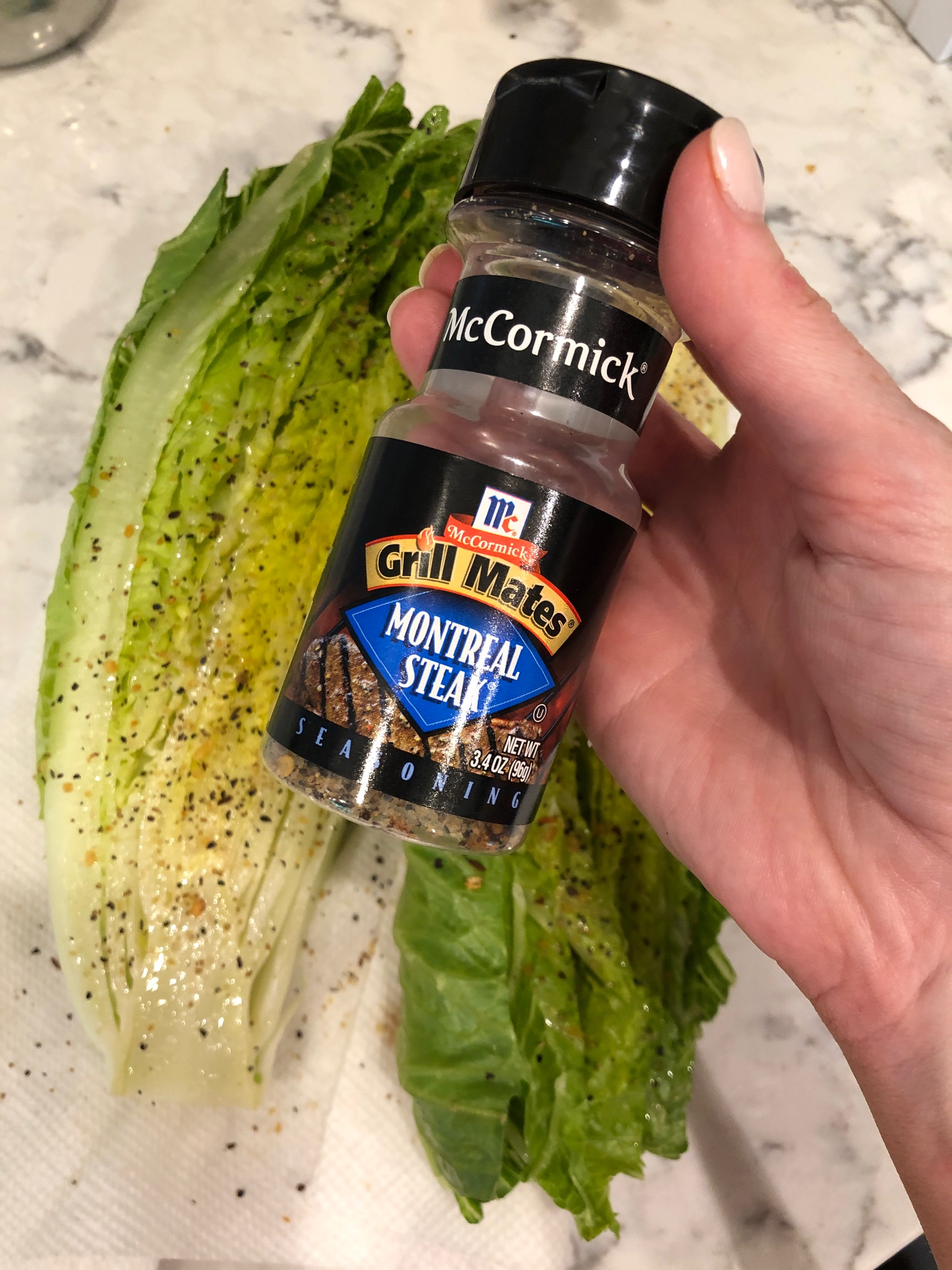 My go-to steak seasoning. Use as much or a little as you'd like.