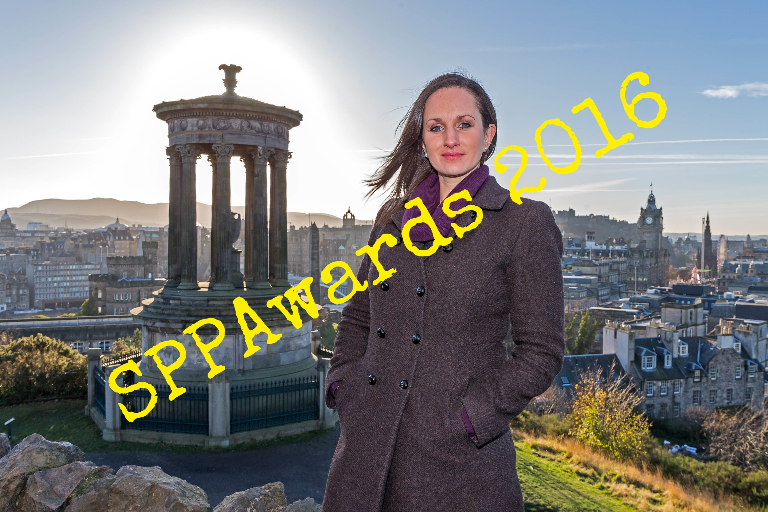 POLITICS - On the campaign trail at the Douglas Monument.JPG