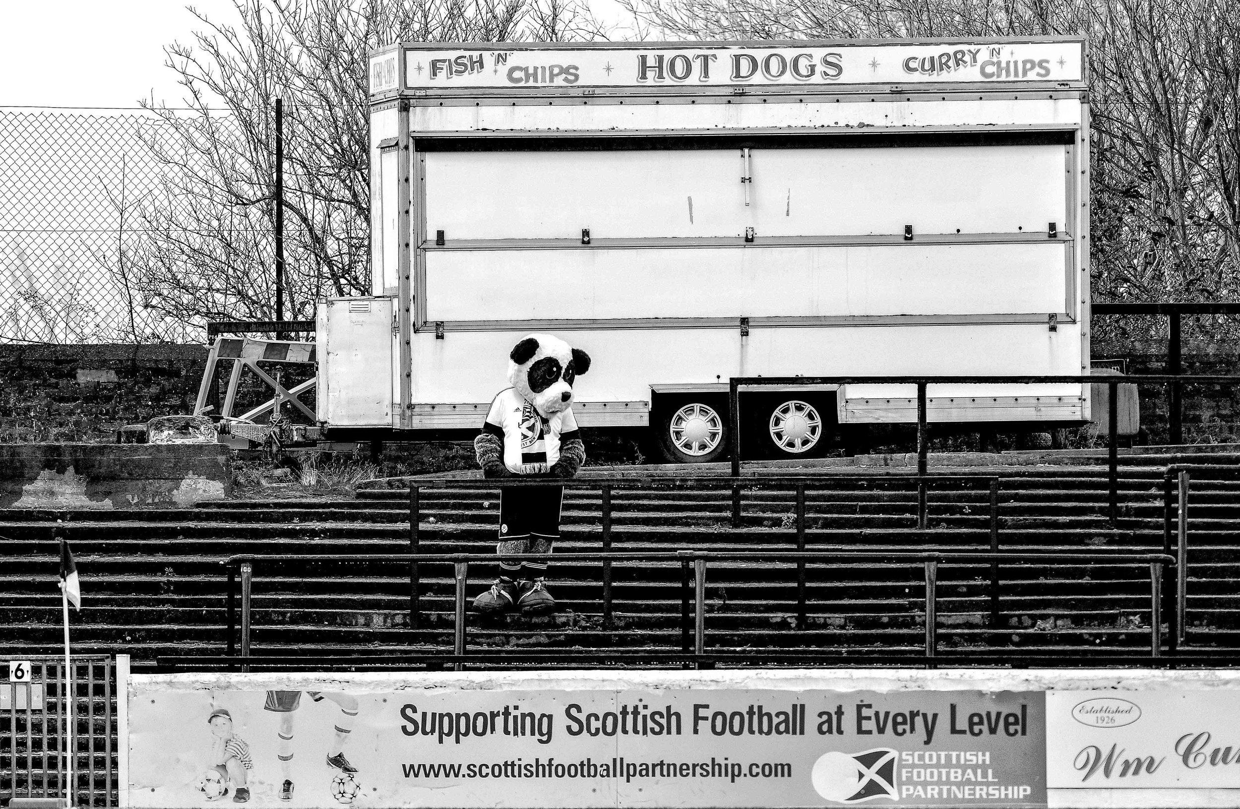 Supporting Scottish football at every level Ayr mascot E.jpg