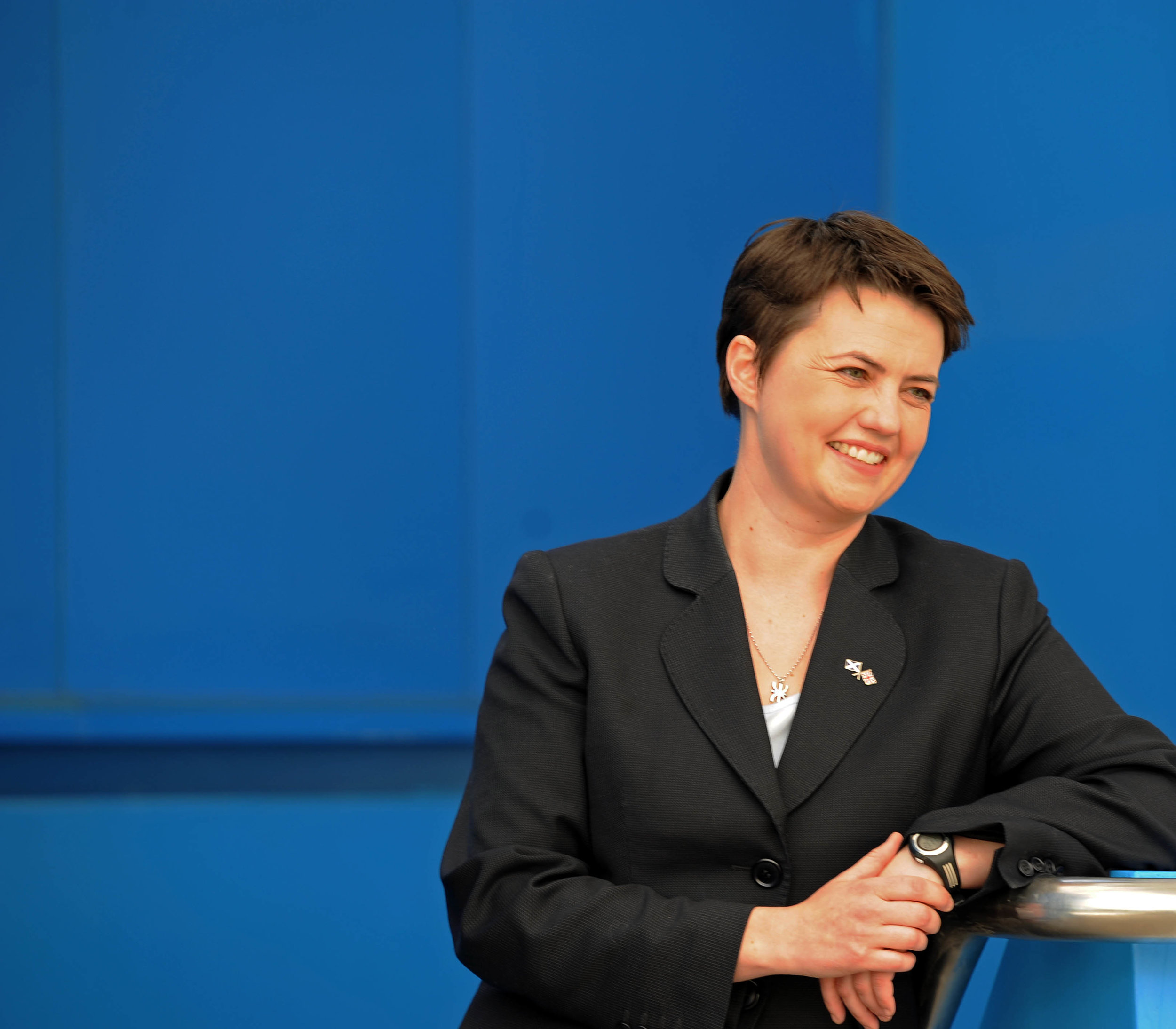 (20-20 Vision) Blue Ruth, Ruth Davidson becomes leader of the Scottish Conservatives.JPG