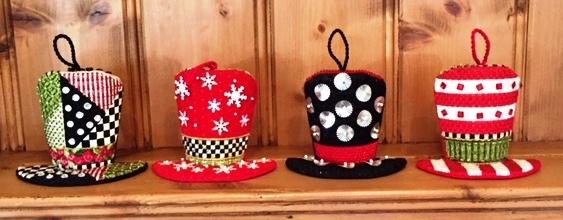 Snowman Hats by Kelly Clark