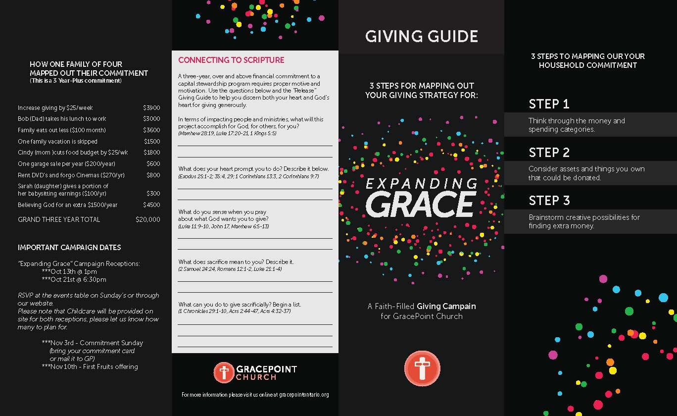 Expanding Grace Giving Guide -