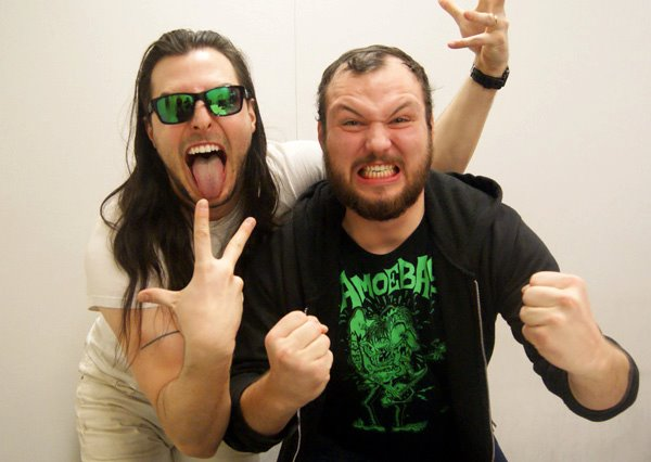 Fellow Michiganders Andrew W.K. and Dave Bombay