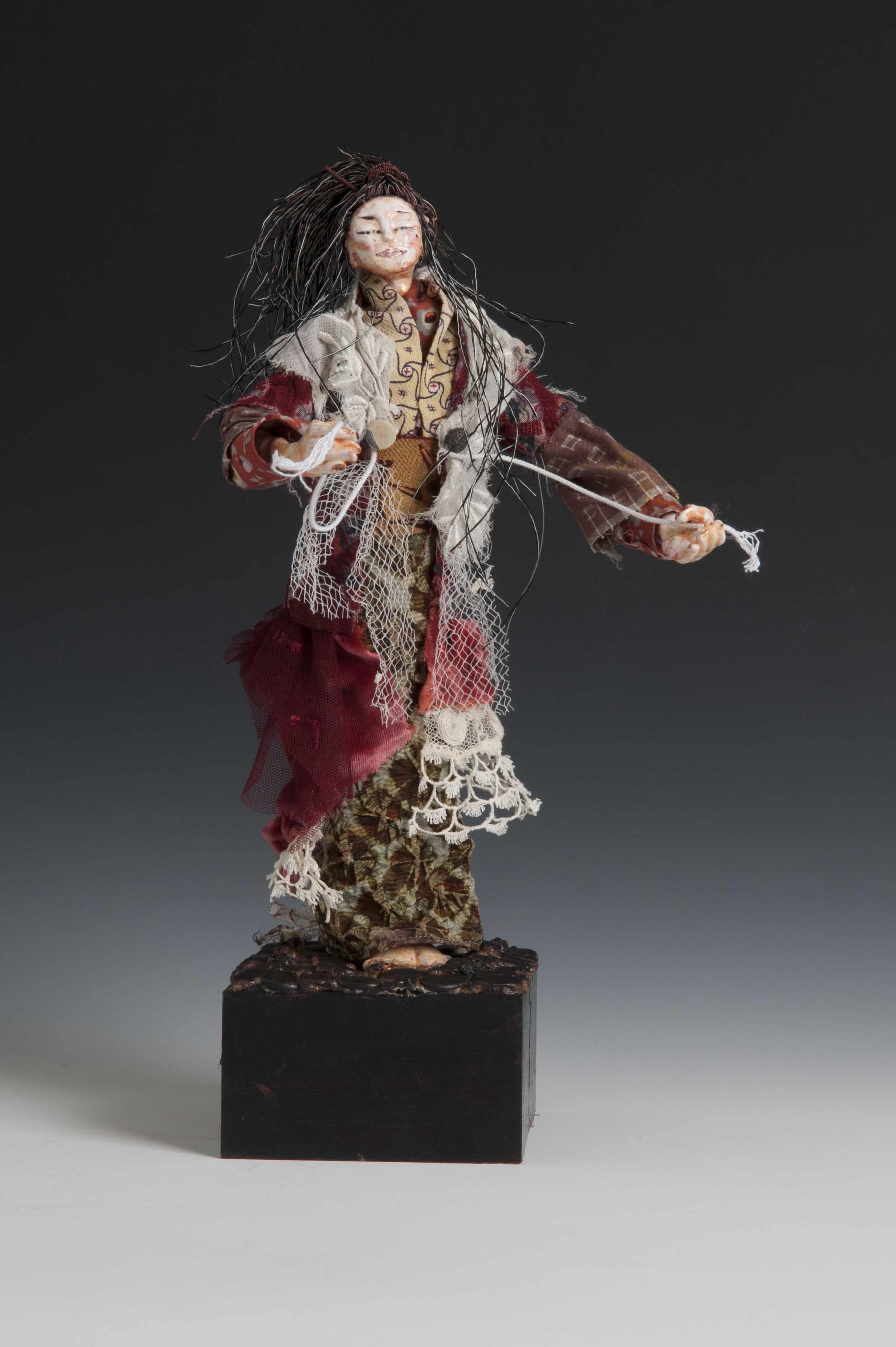 Tattered Goddess Art-Doll-1