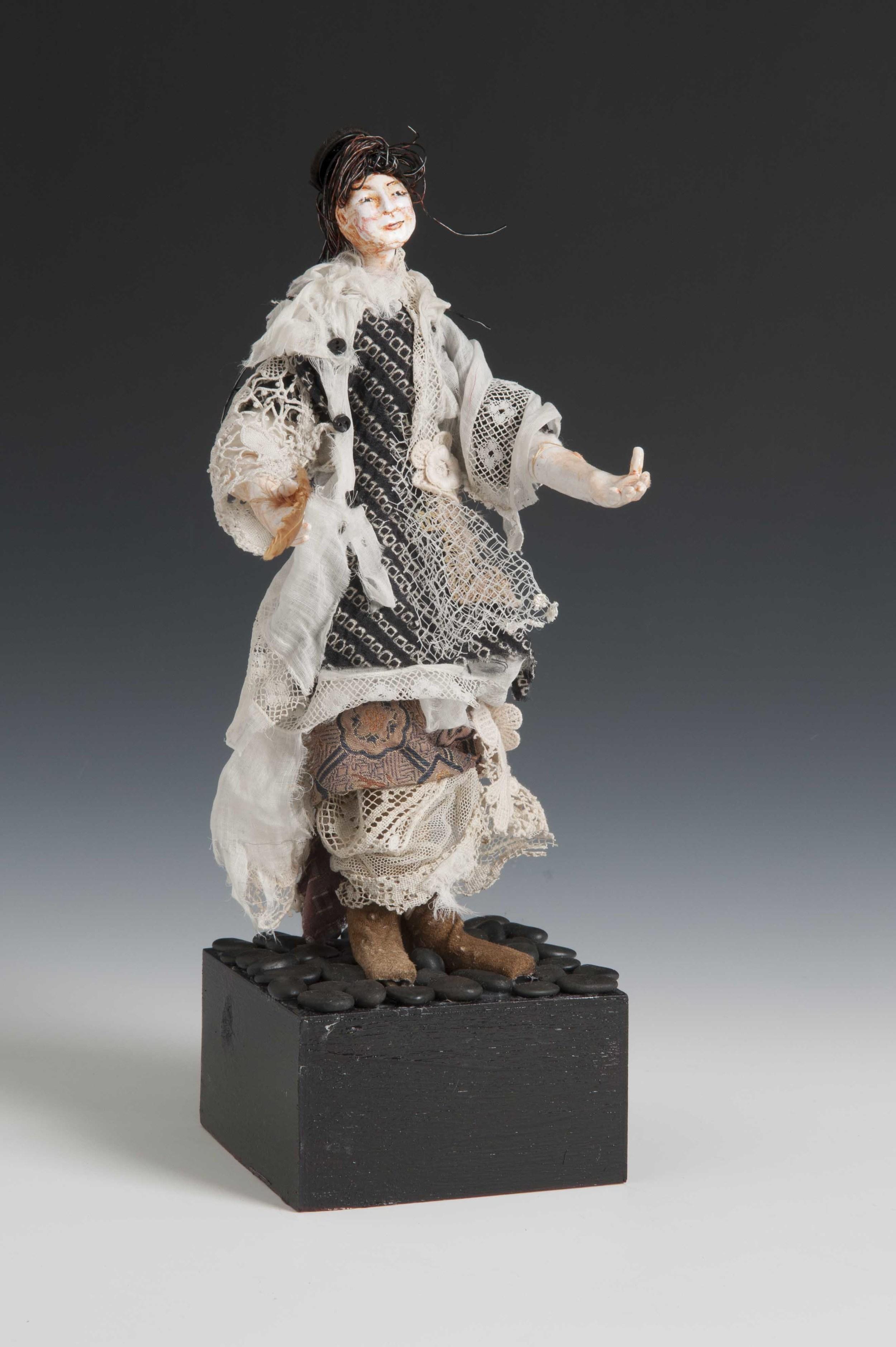 Tattered Goddess-Art Doll 3