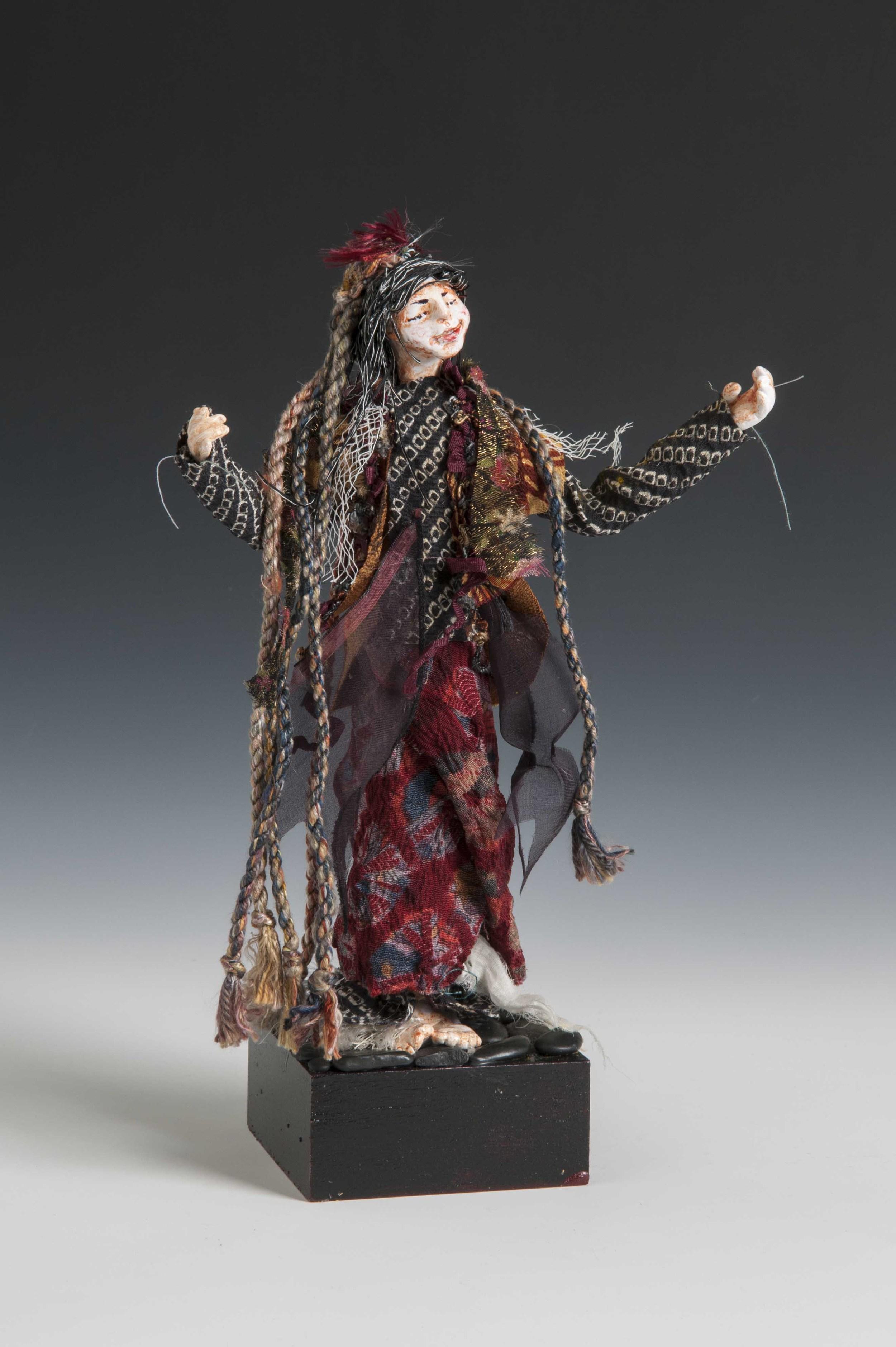 Tattered Goddess-Art Doll 2