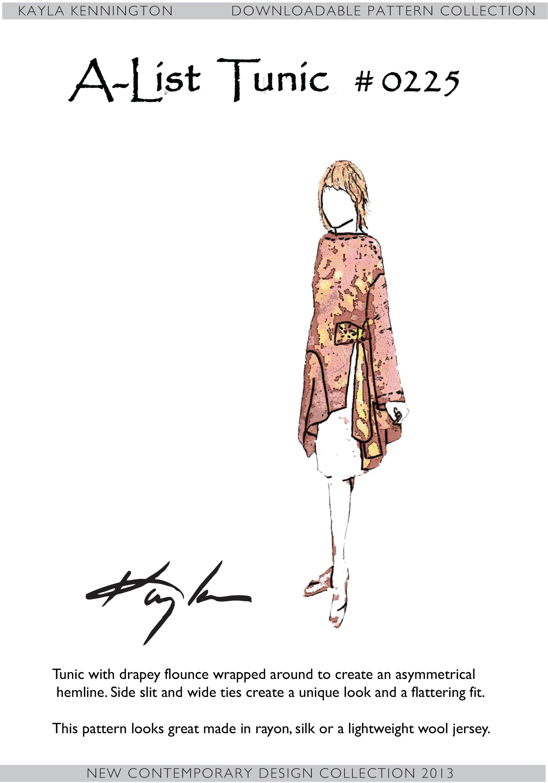 A-List Tunic Pattern