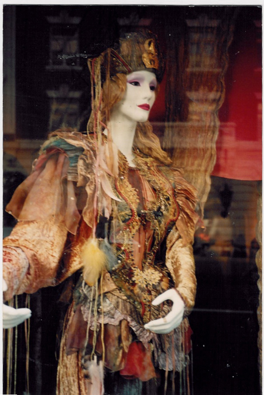 Harvest Gown- Obiko window